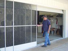 Sliding Garage Door Screen Panels Garage Screen Door Sliding Garage Doors Sliding Screen Doors