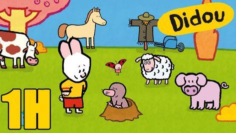 1 heure de Didou - Dessine-moi la campagne | Compilation #1 HD ...