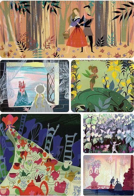 I just love Mary Blair's illustrations!