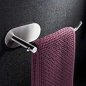 Ruicer Handtuchring Selbstklebend Handtuchhalter Ohne Bohren Edelstahl Fur Bade Handtuchhalter Ohne Bohren Handtuchhalter Halte Durch