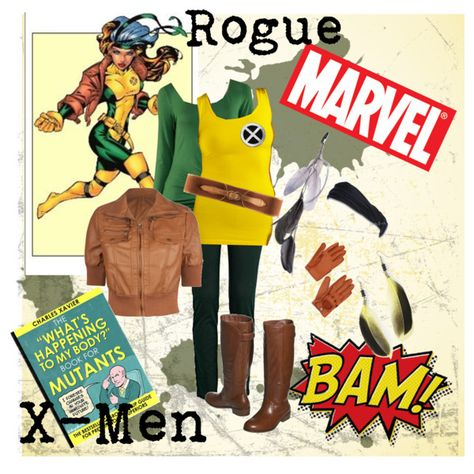 Rogue DIY Halloween costume really pretty spot on for a DIY with normal clothes