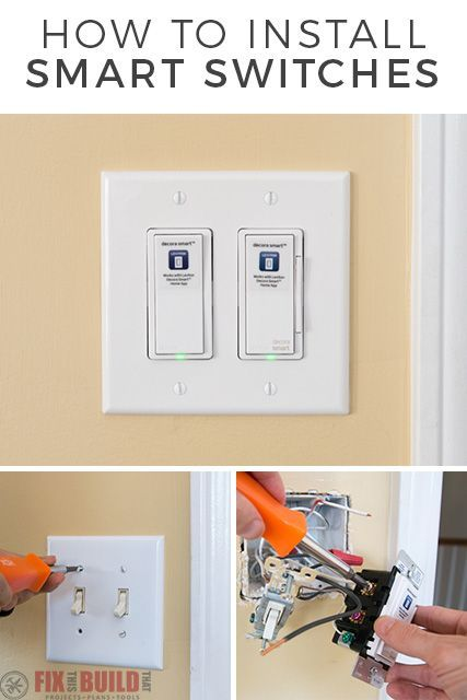 Learn how to install Smart Light Switches to control your lights right from you phone.  I upgraded my lights in my latest Smart Home project with Home Depot.  It's an easy plug and play upgrade and you'll never argue over who has to get up to turn out the light again! #sponsored #smarthome #homedepot