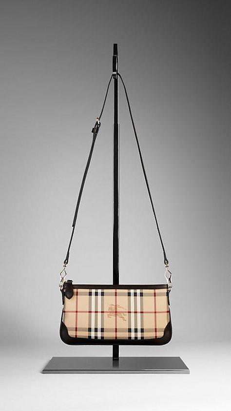 a07220b2bead Small Haymarket Check Clutch Bag