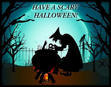 Have A Scary Halloween Witch Halloween Animated Witch Scary Halloween Pictures Scary Wallpaper
