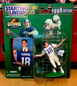 All Starting Lineup Football Figures Google Search Baseball Cards Lineup Manning