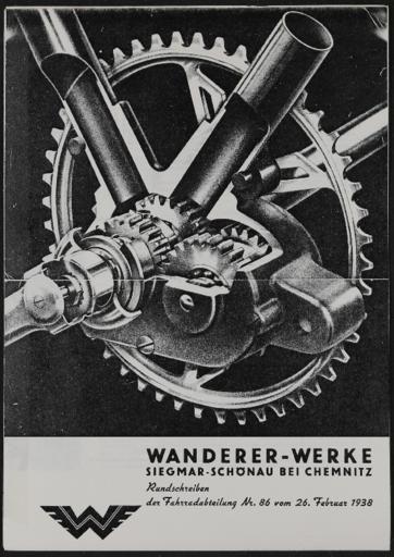 Wanderer Rundschreiben 1938 In 2020 Mit Bildern Motorfahrrad