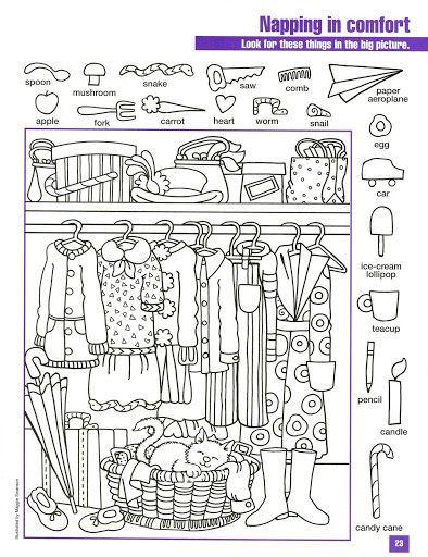 Juegos Imprimibles Archivos Pagina 3 De 5 Fichas Escolares Objetos Escondidos Actividades De Percepcion Visual Actividades Escolares