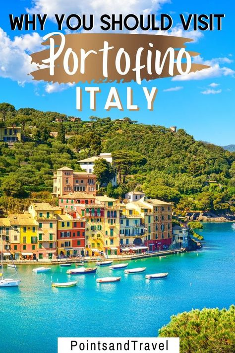 Portofino Italy, Here is why you should visit Portofino, #Portofino #Italy | Wanderlust   #anncavittfisher #travel #travelblogger #wanderlust