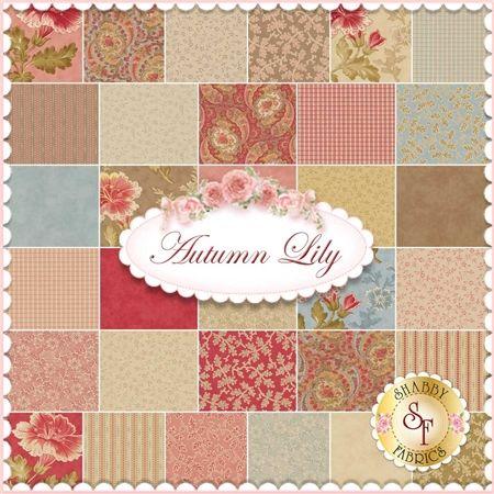 Autumn Lily By Blackbird Designs For Moda Fabrics - Expected ... : moda quilting fabric - Adamdwight.com