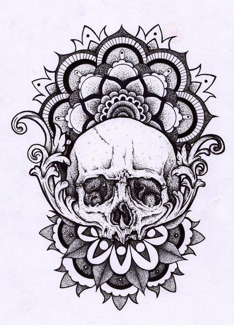a692b8e0c Skull mandala