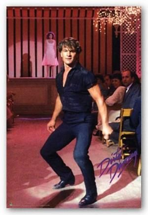 Patrick Swayze - it wasn't just the pretty boy face, it was the way he MOVED that was so hot. by darcy