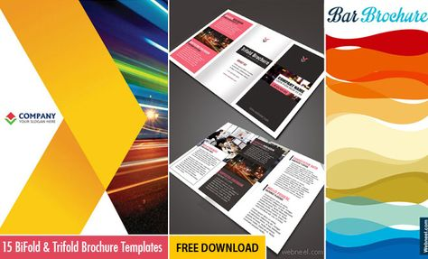 15 Free Corporate BiFold and Trifold Brochure Templates - Free - free product flyer templates