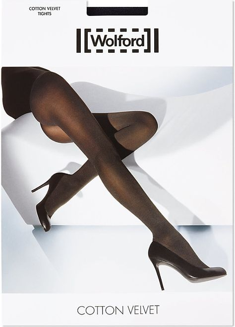 Winter warmers get a luxury makeover in these velvet cotton pantyhose from Wolford. Silky and soft, these wardrobe essentials combine a sophisticated aesthetic with easy wearability for a complete package that you can't afford to be without this season.