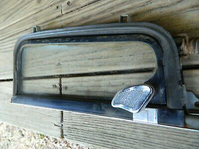 60 61 62 63 Chevy Truck Lh Door Wing Vent Window C10 1960 1961 1962 1963 Oem Chevy Trucks Chevy Corvair Chevy