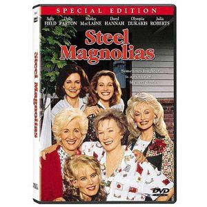 Steel Magnolias 1989 Starring Shirley MacLaine, Sally Field, Dolly Parton, Darryl Hannah, Julia Roberts and more. Filmed in Louisiana.