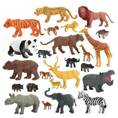 Animal Elephant Model Toy Two Types Elephant Action Figures Kids Gift Home Decor