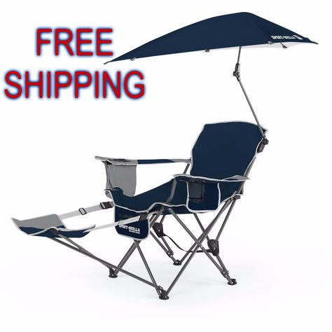360° Swivel Camping Chair Padded Deck Chair Folding Beach Lounger