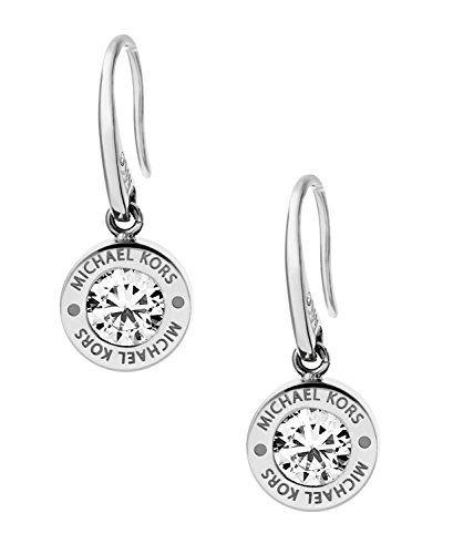 Michael Kors Heritage Women's Earrings Stainless Steel Silver MKJ4516040 BSCCkiRc