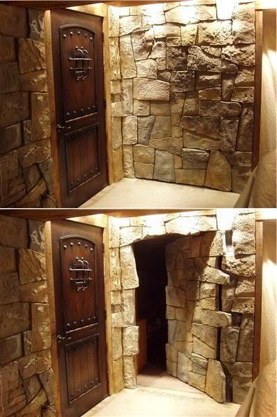 Ssst 14 Amazing Secret Passages Ideas Small House Decor In 2020 Hidden Rooms Small House Decorating Secret Rooms