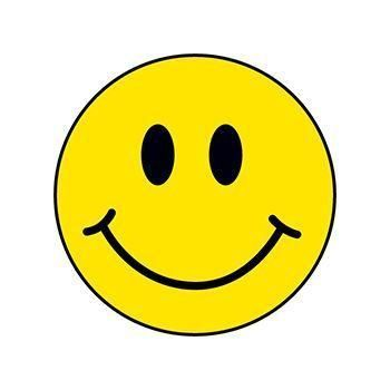 Smile Sticker Aesthetic Smile Sticker In 2020 Happy Stickers Happy Face Yellow Smiley Face