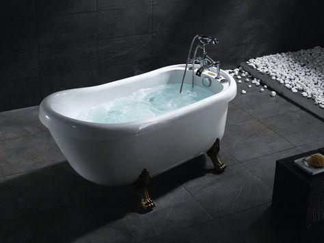 Best Of Both Worlds Ariel Bt 062 Bear Claw Whirlpool Bath Tub