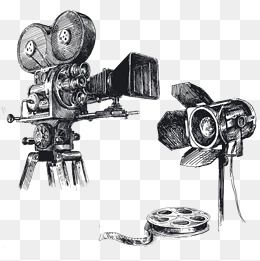 Hand Drawn Sketch Movie Camera Creative Assignment Movie Clipart Camera Clipart Movie Assignment Png And Vector With Transparent Background For Free Download Camera Sketches Camera Drawing How To Draw Hands