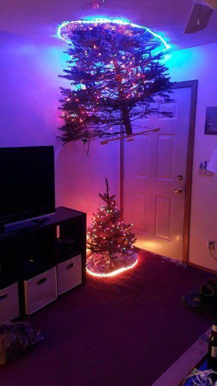 Portal Themed Christmas Tree Idea Christmas Humor Funny Christmas Tree Portal Christmas Tree