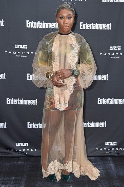 Cynthia Erivo attends Entertainment Weekly's Must List Party at the Toronto International Film Festival 2018.