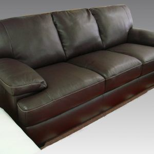 Italsofa Brown Leather Sofa