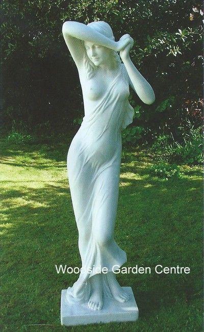 Extra Large Vergogna Phryne Enigma Garden Statue   Woodside Garden Centre    Pots To Inspire