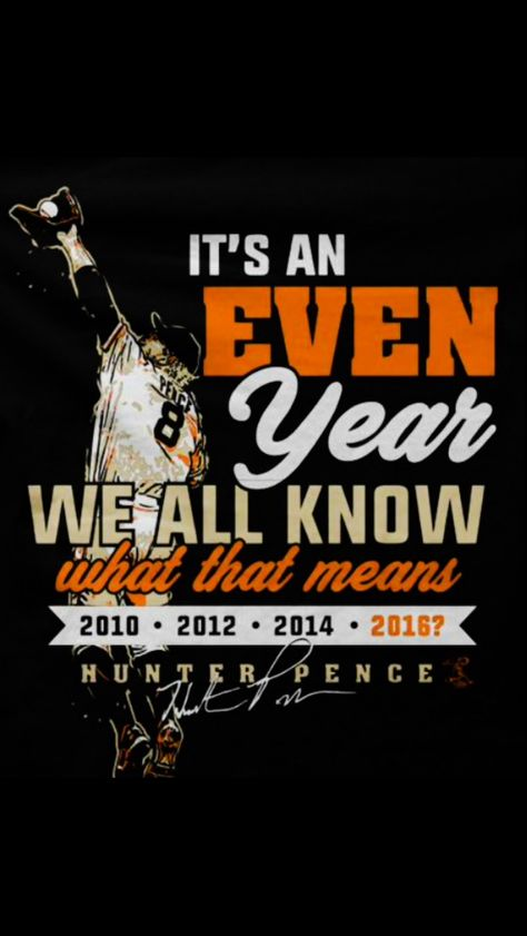 SF Giants~Even year 2016