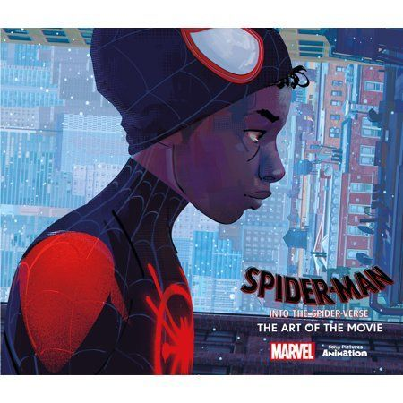 Spider Man Into The Spider Verse The Art Of The Movie Wa Spider Man Into The Spider Verse The Art Of The M Book Art Best Art Books Spiderman Coloring