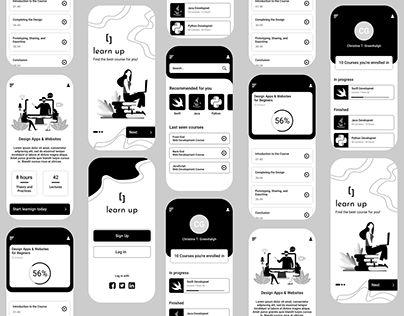 Online Courses App Design