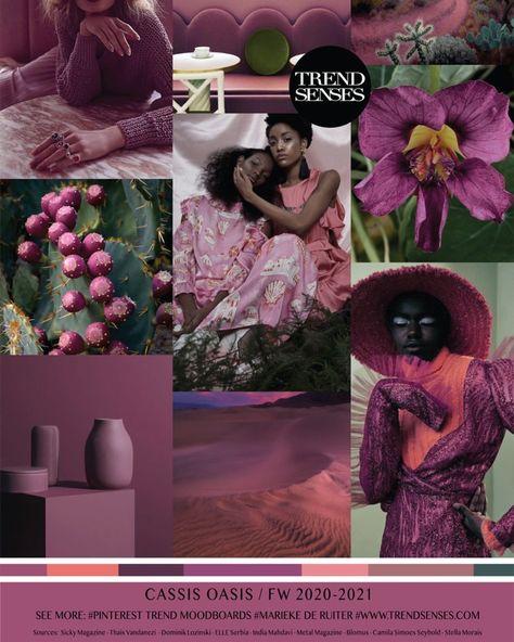 "FV DESIGN STUDIO on Instagram: ""Trend x Color | Womens CASSIS OASIS - FW 2020 - 21. #fashion #fashion-inspiration #fashioninspo #color #moodboard #prints  #inspo…"""