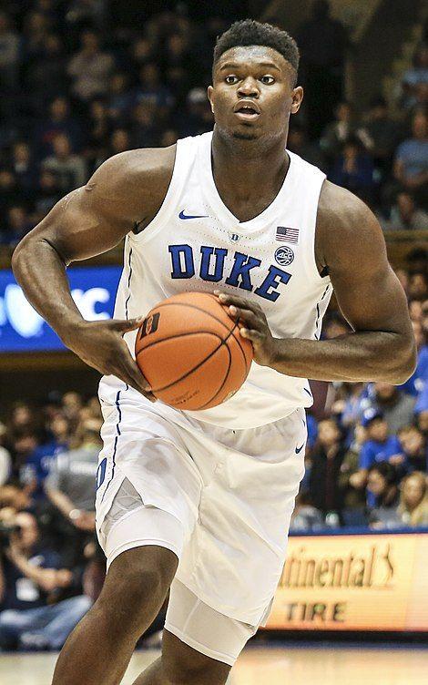 Zion Williamson Wikipedia In 2020 College Basketball Teams College Basketball Players Basketball Players Nba