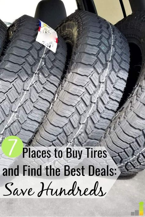 How To Buy Tires >> 7 Best Places To Buy Tires And Save Money Buy Tires Money
