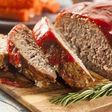 Ketchup Glazed Meatloaf Kroger Recipe Easy Low Sodium Recipes Meatloaf Meatloaf Recipes
