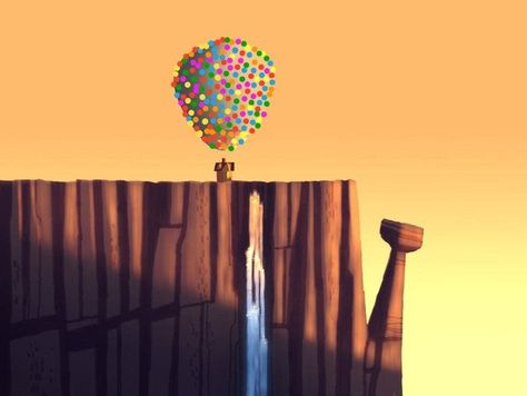 Carl's House (From Pixar's Up) Balloon Weight by WEDimagineer