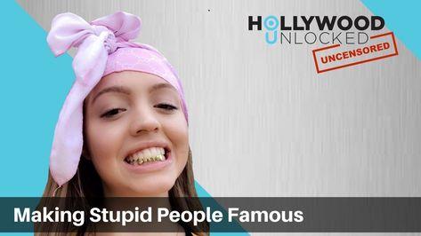 Talking Making Stupid People Famous on Instagram on Hollywood Unlocked  [UNCENSORED]
