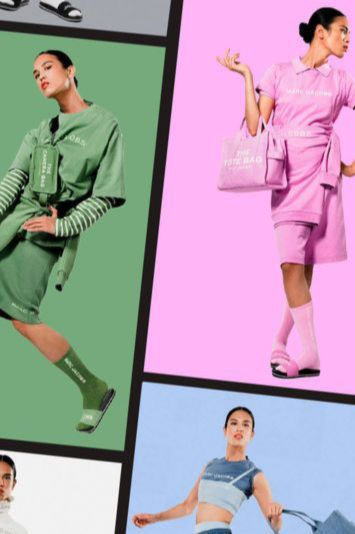 A color-splashed ensemble that epitomizes carefree (and joyful) summer style. The pieces from the new Marc Jacobs Color Collection deliver just that.So, go on and shop the edit for an extraordinarily dressed summer lived outside the lines. #fashion #marcjacobs #monochrome #color #travel #thecolorcollection