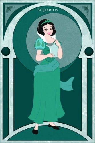 Princess Zodiacs - Aquarius