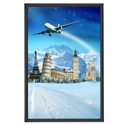 Mt Displays Snap Picture Frame Size 40 X 60 Color Silver