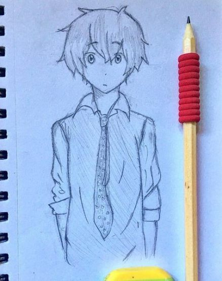Drawing Anime Pencil Sketch 55 Ideas In 2020 Anime Boy Sketch Anime Drawings Boy Art Drawings Sketches Simple