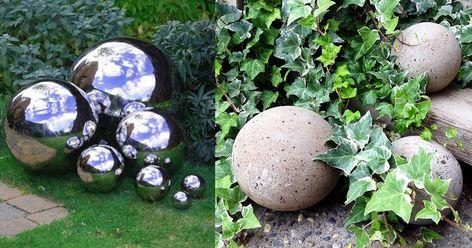 13 Super Interesting DIY Garden Globes Ideas With Tutorials