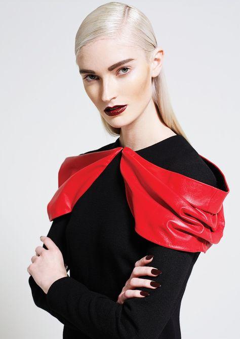 Photographer Peter Yip Makeup Artist Ashley Ward Hairstylist Federico Ghezzi Stylist Karl Plewka Model Helena Premier Portfolio Ideas Fashion Photog