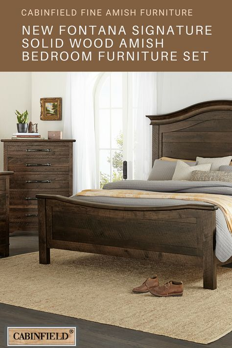 Fontana Series Amish Bedroom Furniture Amishbedroomfurniture