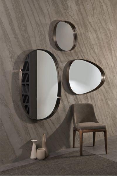 Specchio Design Per Camera Da Letto.Lumiere Riflessi Specchi Decorativi Arredamento Nicchia