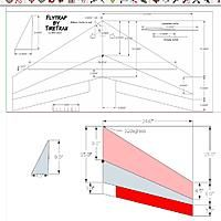 A Design Plan For A 24in Rc Flying Wing Plans Foam Board Plans Yahoo Image Search Results Airplane Design Aircraft Design Flying Wing
