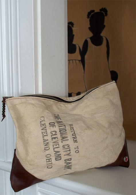 bank bag 1 | this would be fun for shoe storage by the entry | Did she????!!!!