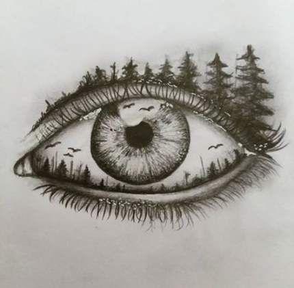 36 Ideas Drawing Beautiful Eyes Sketch Drawing Art Drawings